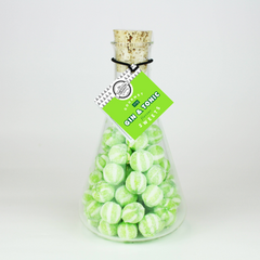 Gin And Tonic Hardboiled Sweets Flask