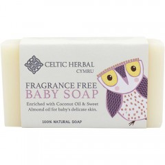 Baby Fragrance Free Soap 110g