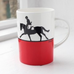 Show Jumping Bone China Mug - Individually Boxed