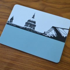 London - St Paul's Cathedral & Millennium Bridge T