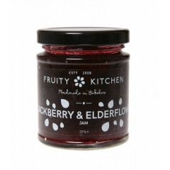 Blackberry And Elderflower Jam 227g