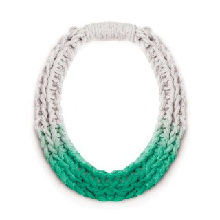 PURLS HANDWOVEN STATEMENT NECKLACE IN 5 COLOURS