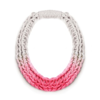 PURLS HANDWOVEN STATEMENT NECKLACE IN 2 COLOURS
