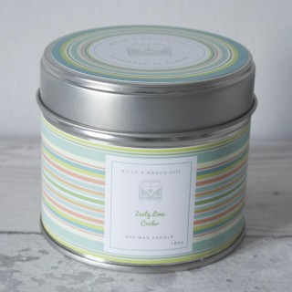 Zesty Lime Cooler Classic Tin Candle
