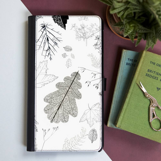 Hedgerow Medley Faux Leather Iphone X Case