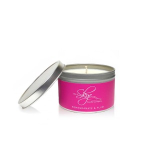 Pomegranate & Plum Travel Container Candle