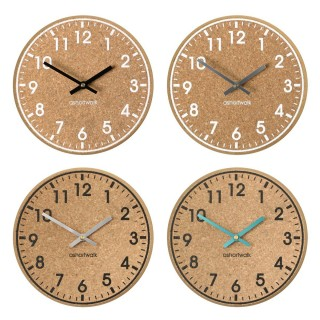 Eco Chunky Cork Wall Clock