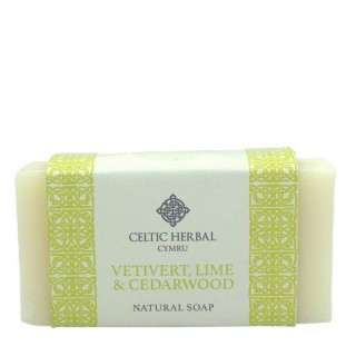 Vetivert, Lime & Cedarwood Soap 100g