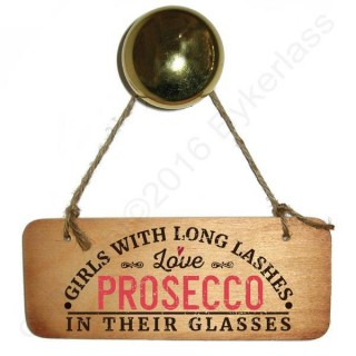 Girls With Long Lashes Love Prosecco In Their Glas