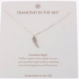 Guardian Angel Necklace Gift Card