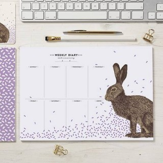 Hare Weekly Planner Pad