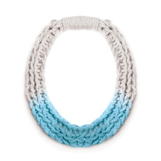 PURLS HANDWOVEN STATEMENT NECKLACE IN 3 COLOURS