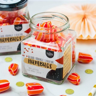 Blood Orange Liqueur Humbugs