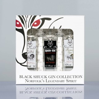 Black Shuck Gin Miniature Gift Pack