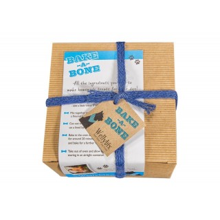 Bake at Home Dog Biscuit Baking Kit Carob Chocolate