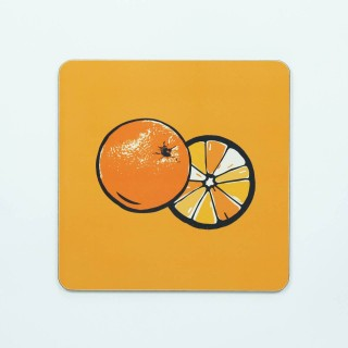 Orange Table Mat