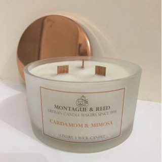 Luxury 3 Wooden Wick Candle