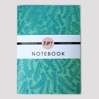 Sprig (Mint) A5 Notebook