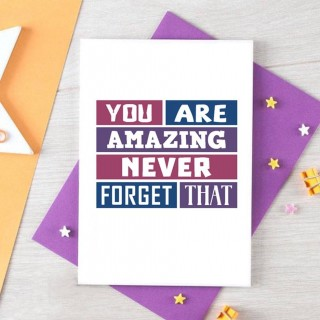Friendship Card | You Are Amazing
