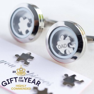 Dad - I Love You To Pieces Cufflinks