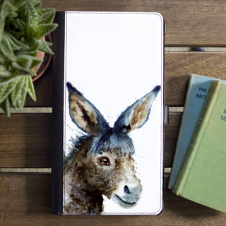 Inky Donkey Faux Leather Iphone X Case With Card S