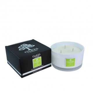 500g Luxury Boxed Three Wick Candle - Basil & Pomelo