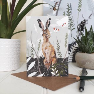 'gazing Hare' Card