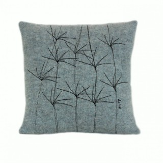 Blue Wildflower Cushion