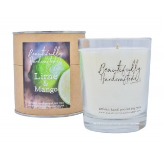 Lime And Mango Soy Candle Jar