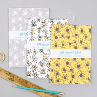 Daisies Set of 3 Notebooks