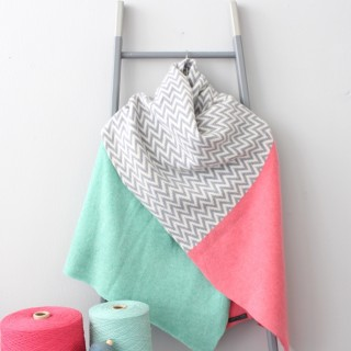 Pink Chevron wrap