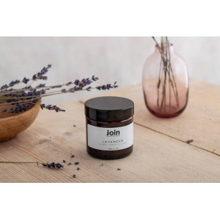 Lavender Soy Wax + Essential Oil Candle 60ml I 10-15 Hour Burn