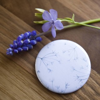 Hedgerow Seeds Pocket Mirror