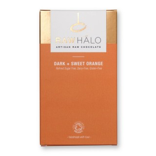 Dark & Sweet Orange - 35g Vegan Chocolate Bar