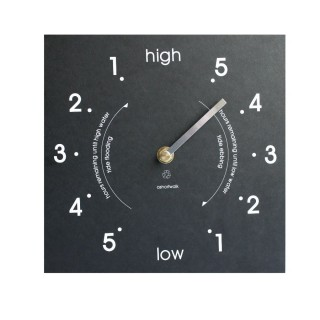 Eco Recycled Tide Clock