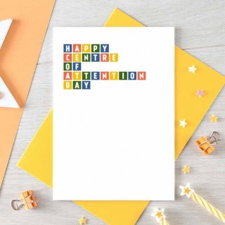 Birthday Card | Centre Of Attention
