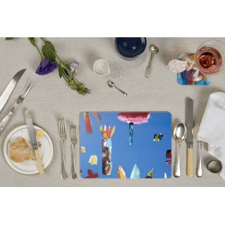 Tablemats - Set Of 4 - Portuguese Gardens