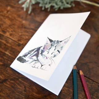 Inky Kitten Eco-friendly A6 Notebook
