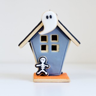 3d Biscuit Haunted House Hal005