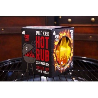 Gordon Rhodes Wicked Hot Rub Gift Pack