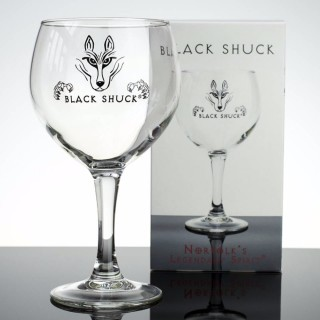 Black Shuck Copa De Balon Gin Glass