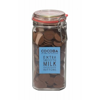 Extra Smooth Milk Chocolate Buttons Jar