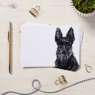 Scottie Dog Note Cards - 10pck