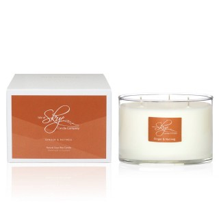 Ginger & Nutmeg 3 Wick Candle