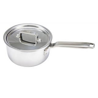 Tom Kerridge Tri-Ply Stainless Steel Saucepan 20cm/X.XL