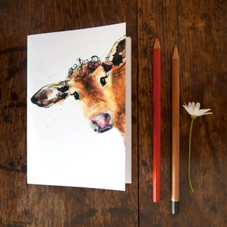 Inky Cow Eco-friendly A6 Notebook