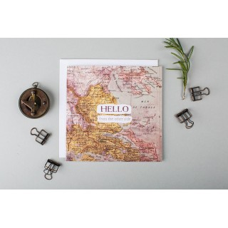 'hello' Long Distance Card