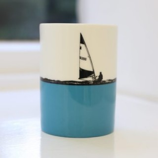 Sailing Bone China Mug - Individually Boxed
