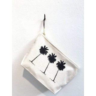 Palm Tree Make Up Bag