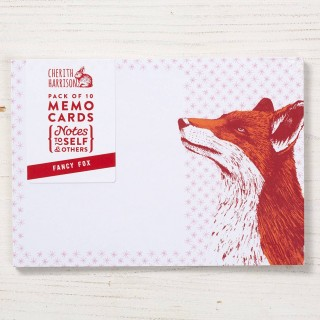 Fox Note Cards - 10pck